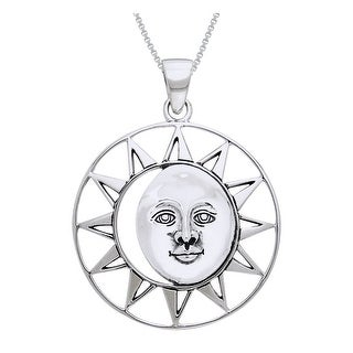 Link to Sterling Silver Sun Goddess Necklace Similar Items in Necklaces