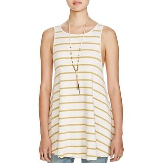 We The Free Womens Tank Top Sleeveless Striped