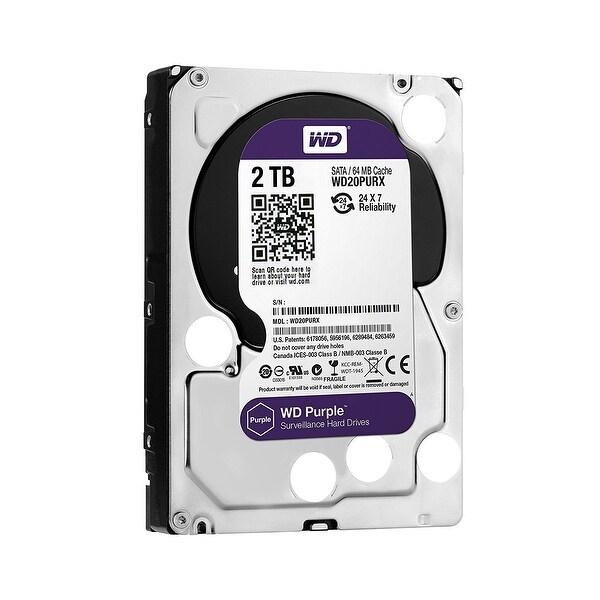 Western Digital Hdd Wd20purz Wd Purple Av 3.5 2Tb 64Mb Sata 6Gb/S Bulk