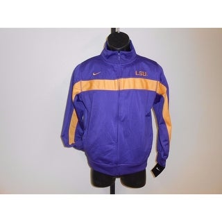 Lsu Tigers Youth Size M Medium Track Jacket 77Ib