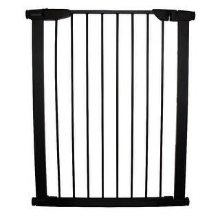"Cardinal Gates Extra Tall Premium Pressure Pet Gate Black 29.5"" - 32.5"" x 2"" x 36"""