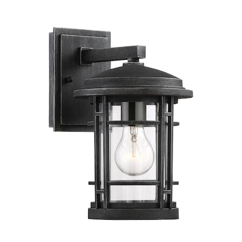 """Designers Fountain 22421 Barrister Single Light 7"""" Tall Outdoor Wall"""