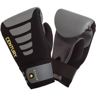 Century Brave Neoprene Slip-On Boxing Bag Gloves - Black/Gray
