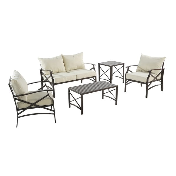Senwest 5-piece Outdoor Conversation Set with Covers. Opens flyout.