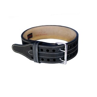 Grizzly Fitness Grizzly 4in Double Prong Powerlifting Belt - Medium - 8472-04
