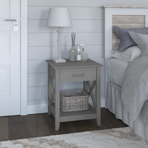 Key West Nightstand with Drawer by Bush Furniture