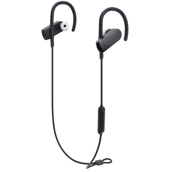 ed27e0aa030 AudioTechnica ATH-SPORT70BT SonicSport Wireless In-Ear Headphones with  In-Line Mic and
