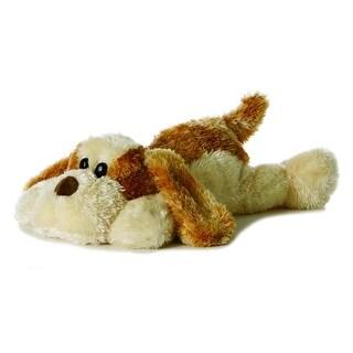 """Scruff the Plush Dog Flopsie - 12"""" by Aurora - 06862 - Brown"""