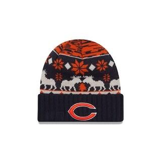 New Era Chicago Bears Team Mooser Knit Hat