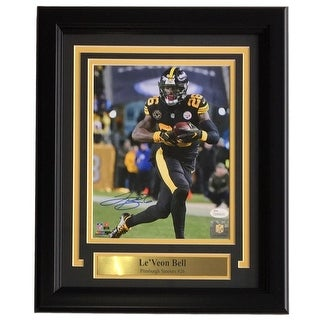 ac248f2a5 Antonio Brown Signed Framed 8x10 Pittsburgh Steelers Color Rush Jersey  Photo JSA Photographs