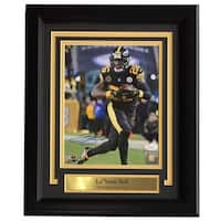 e6c9b4437d3 Le Veon Bell Signed Framed 8x10 Pittsburgh Steelers Color Rush Jersey Photo  JSA
