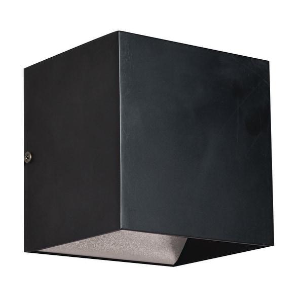 Porch & Den Eggers Black 1-light ADA LED Wall Sconce. Opens flyout.