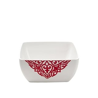 Q Squared NYC Melamine Pattern Soup Bowl