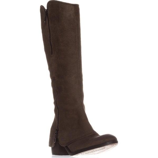 Donald J Pliner Casual Knee-High Boots, Dark Olive/Dark Olive