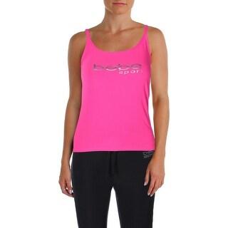 Bebe Womens Tank Top Yoga Fitness