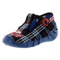 Befado Boys Robbie T Strap Slippers - Made In Europe