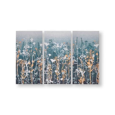 Graham and Brown 104011 Wildflower Meadow 3-Piece Fr - Teal