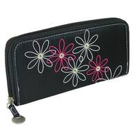 Travelon Women's Daisy RFID Blocking Zip-Around Wallet - One size