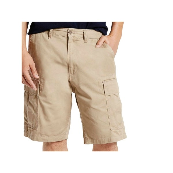 319de6de95 Mens Big & Tall Cargo Shorts Cotton Flat Front - Free Shipping On Orders  Over $45 - Overstock - 22642499