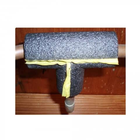 "Frost King TEE58H Tubular Polyethylene Foam Pipe Tee, 1/2"""