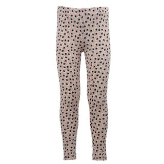 Kids Stretchy Leggings Bottom Trousers pink dandelion