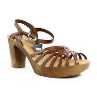 Eric Michael Womens Rosie-235 Tan Sandals Size 10