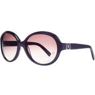 Mont Blanc MB 467S/S 71T Purple Oversized Square Sunglasses