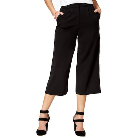 The Edit By Seventeen Womens Crepe Gaucho Pants