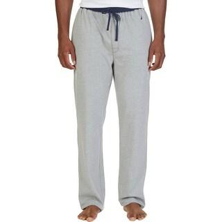 Nautica Mens Pajama Bottoms Drawstring Solid