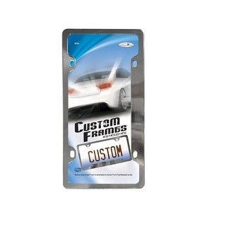 Custom Accessories 92541 Classic License Frame