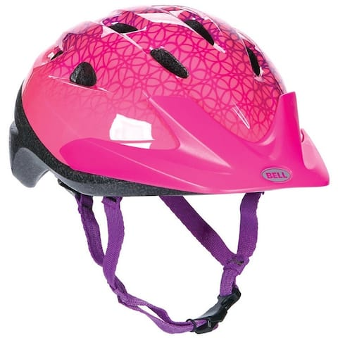 Bell 7063276 Rally Bicycle Helmet For Child Girls, Pink Prismatic