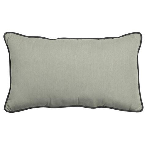 Arden Selections Oasis Indoor/Outdoor Lumbar Pillow w/ Accent