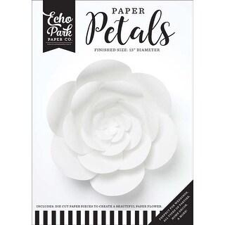Large White Peony - Echo Park Paper Petals