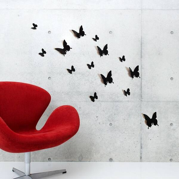 Details about  /3D Black Strips 437RAIN Wall Stickers Wall Mural Decals Boris Draschoff Honey