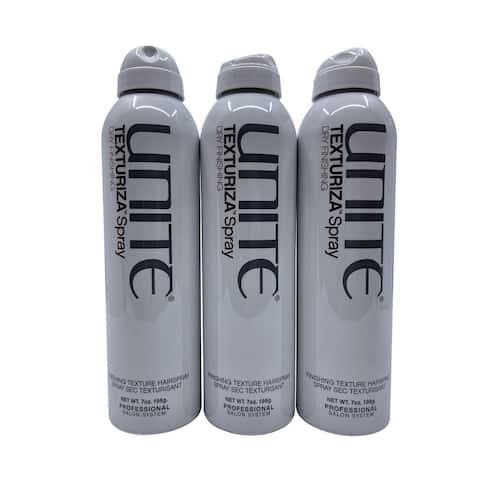 Unite Texturiza Spray Finishing Texture Spray 7 OZ Set of 3 - 15.1 - 20 Oz.