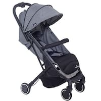 Lightweight Foldable Baby Kids Travel Stroller Pushchair Buggy Newborn Infant - gray
