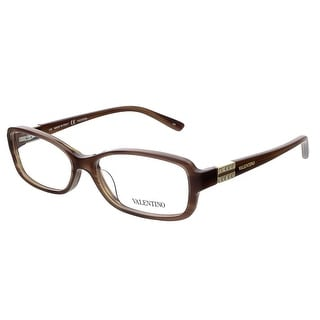 Valentino V2623 236 Brown Rectangular Valentino Eyewear