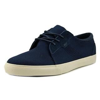 Reef Ridge Men  Round Toe Canvas Blue Sneakers