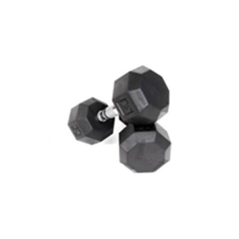 Troy Barbell SD-003R VTX 8-Sided Rubber Encased Dumbbells - 3 Pounds