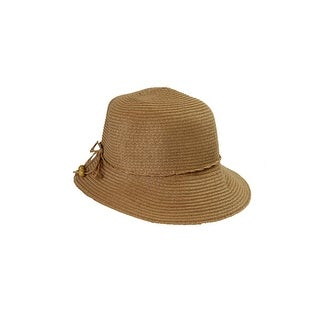 August Hat Tan Toyo Cloche OS