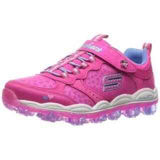 Kids Skechers Girls Air Stardust Low Top Walking Shoes