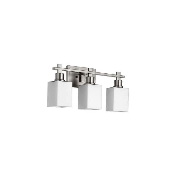 Quorum International 5098-3 Tate 3 light Bathroom Fixture