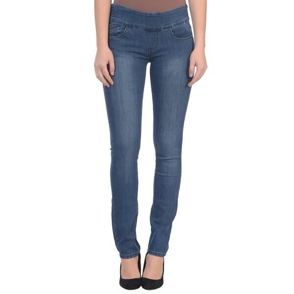 Lola Pull On Straight Jeans, Catherine-MB