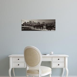 Easy Art Prints Alan Blaustein's 'Oakland Pano #1' Premium Canvas Art