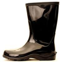 Size 7 Black Womens  Waterproof Rain Boots