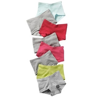 Hanes Girls' Cotton Boy Short Panties 8-Pack - 14