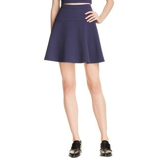 Likely Womens A-Line Skirt Solid Mini