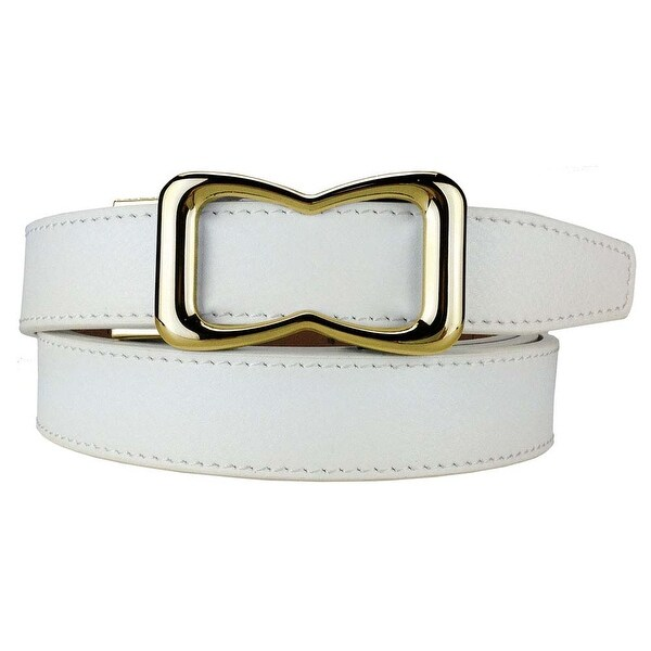 Nexbelt Ladies Classic Series Janell White Belt Adjustable Ratcheting System