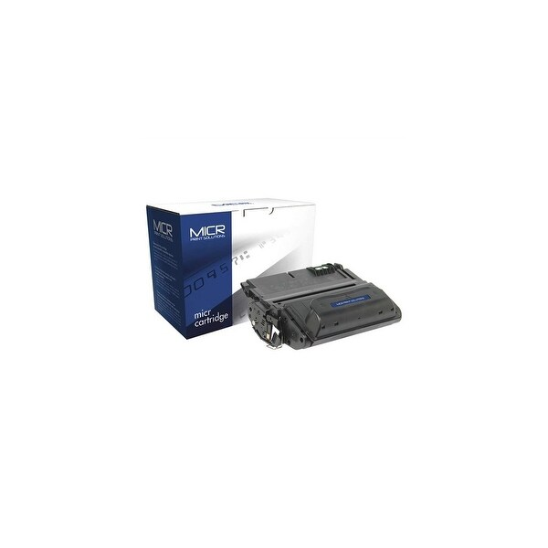 MICR Print Solutions 38AM MICR Toner Cartridge - Black 38AM MICR Toner Cartridge