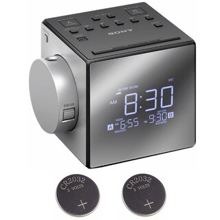 Sony ICFC1PJ Alarm Clock Radio Bundle